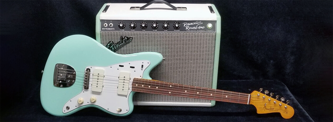 Baby Blue Fender Lavonne Music Specials