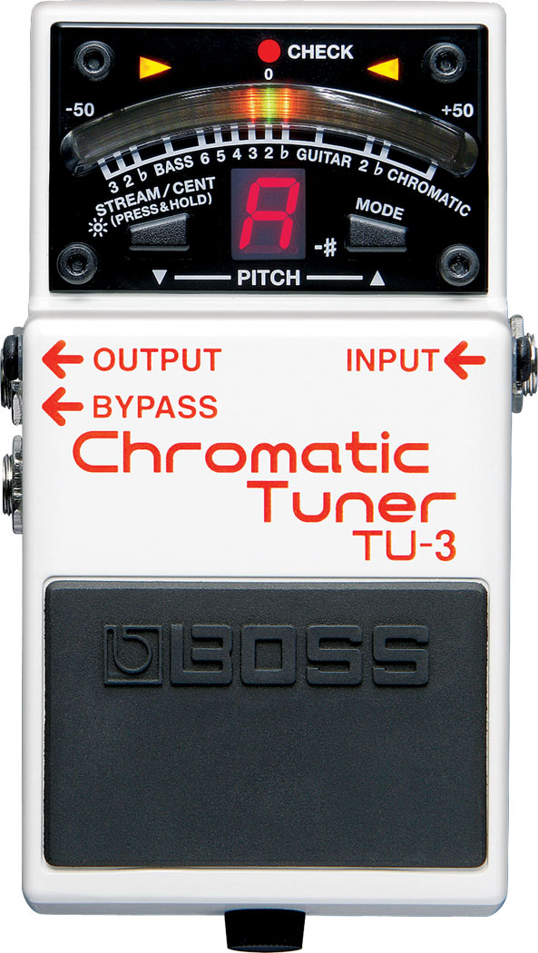 Boss TU-3 Chromatic Tuner from LaVonne Music