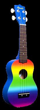 Rainbow ukulele